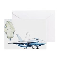 F/A-18 Hornet , strike f Greeting Cards (Pk of 20)