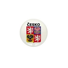 Česko Mini Button (10 pack)