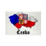 Česko Rectangle Magnet (100 pack)