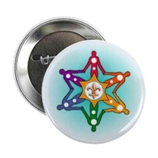 "RAINBOW NEW ORLEANS 2.25"" button"