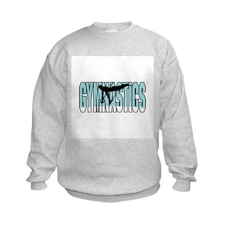 Gymnastics Design Kids Sweatshirt