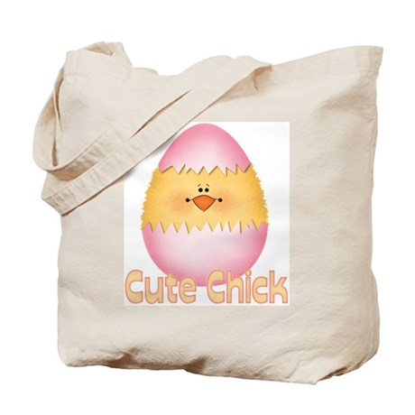 Cute Chick Tote Bag