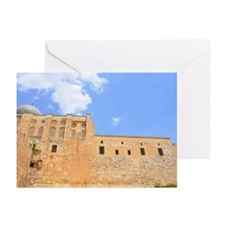 Al Aqsa mosque looking u Greeting Cards (Pk of 10)
