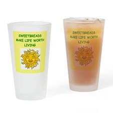 sweetbreads Drinking Glass