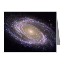 Messier 81 spiral galaxy Note Cards (Pk of 10)