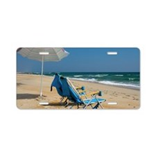 Cape Hatteras Beach Aluminum License Plate