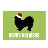 "Pekingese ""Santa Hat"" Postcards (Package of 8)"