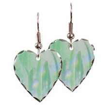 Leaves and soap bubbles Earring