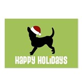 "Chihuahua ""Santa Hat"" Postcards (Package of 8)"