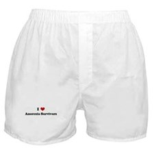 I Love Anorexia Survivors Boxer Shorts