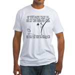 Lactivism Fitted T-Shirt
