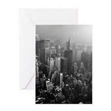 Manhattan skyline with East River at Greeting Card