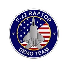"F-22 Raptor 3.5"" Button"