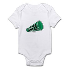 Green Cheer Megaphone Infant Bodysuit