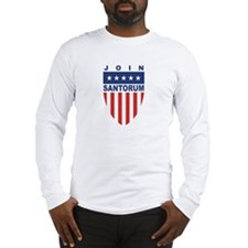 Join Rick Santorum Long Sleeve T-Shirt