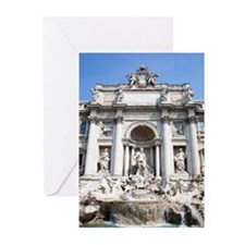 Famous Trevi fountain (F Greeting Cards (Pk of 20)