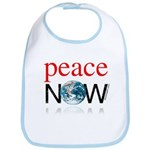 Peace Now Bib