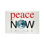 Peace Now Rectangle Magnet (10 pack)