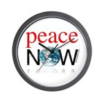 Peace Now Wall Clock