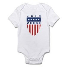 Join Kevin Zeese Infant Bodysuit