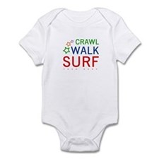 Crawl, Walk, Surf Onesie