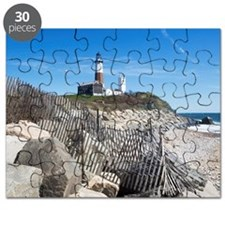 USA, New York, Long Island, Montaurk, Coast Puzzle