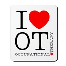 I Heart OT - Mousepad