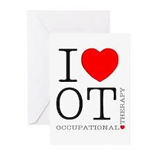 I Heart OT - Greeting Cards (Pk of 10)
