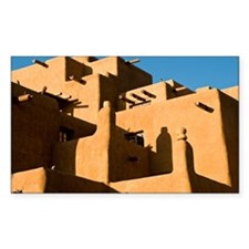 Santa Fe architecture Decal