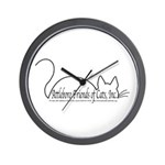 Wall Clock with AFoC, Inc. Logo