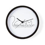 Wall Clock with AFoC, Inc. Logo
