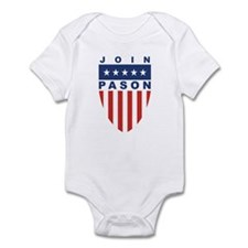 Join Greg Pason Infant Bodysuit