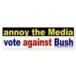Annoy the Media Bumper Sticker