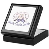 God's Little Lamb Keepsake Box