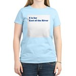 East of the River Women's Pink T-Shirt