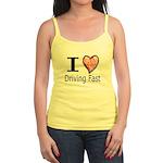 I Heart Driving Fast Jr. Spaghetti Tank
