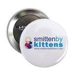 "Smitten By Kittens 2.25"" Button (100 pack)"