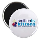 "Smitten By Kittens 2.25"" Magnet (100 pack)"