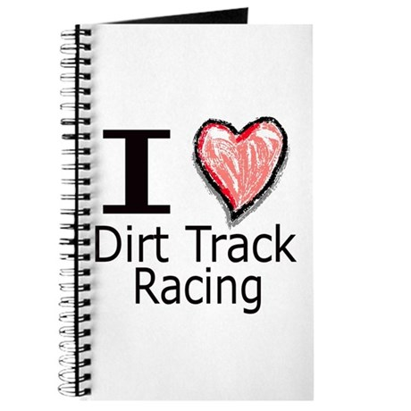 I Heart Dirt Track Racing Journal