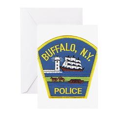 Buffalo Police Greeting Cards (Pk of 10)