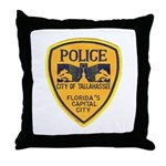 Tallahassee Police Throw Pillow