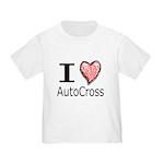 I Heart Auto Cross Toddler T-Shirt