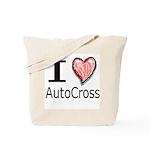 I Heart Auto Cross Tote Bag