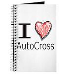 I Heart Auto Cross Journal