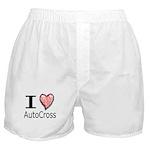 I Heart Auto Cross Boxer Shorts