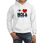 Eye Love NOLA (brown) Hooded Sweatshirt