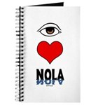 Eye Love NOLA (brown) Journal