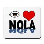 Eye Love NOLA (brown) Mousepad