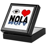 Eye Love NOLA (brown) Keepsake Box