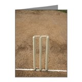 Wickets on the pitch, Top an Note Cards (Pk of 20)